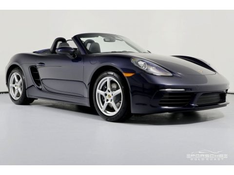 Night Blue Metallic 2019 Porsche 718 Boxster