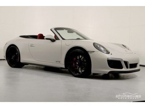 White 2018 Porsche 911 4 GTS Coupe