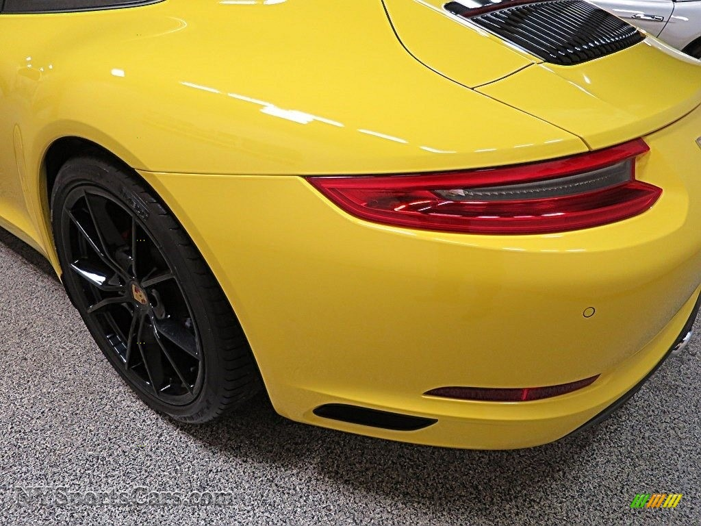 2017 911 Carrera S Coupe - Racing Yellow / Black/Bordeaux Red photo #8