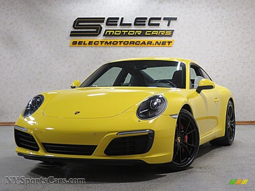 2017 911 Carrera S Coupe - Racing Yellow / Black/Bordeaux Red photo #11