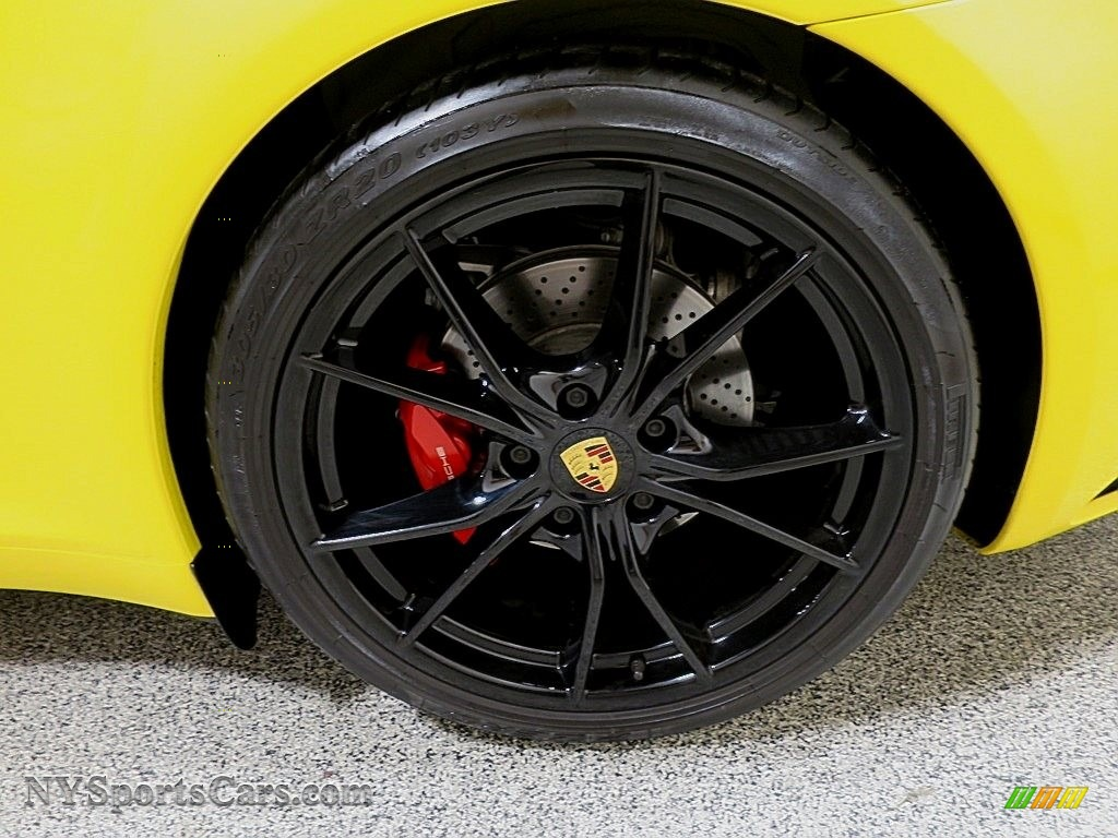 2017 911 Carrera S Coupe - Racing Yellow / Black/Bordeaux Red photo #15