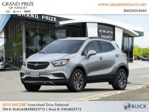 Quicksilver Metallic 2019 Buick Encore Preferred
