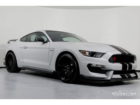 Avalanche Gray 2017 Ford Mustang Shelby GT350R Coupe