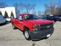 Chevrolet Silverado 1500 WT Regular Cab Victory Red photo #1