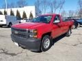 Chevrolet Silverado 1500 WT Regular Cab Victory Red photo #2