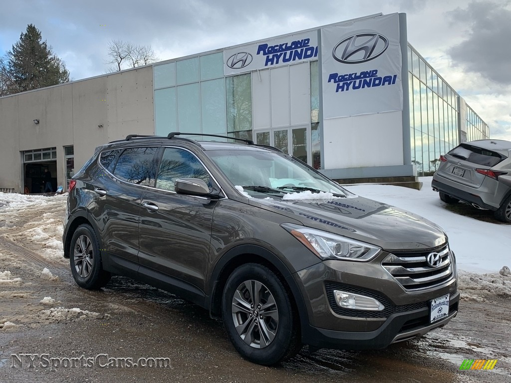 2014 Santa Fe Sport FWD - Cabo Bronze / Beige photo #1