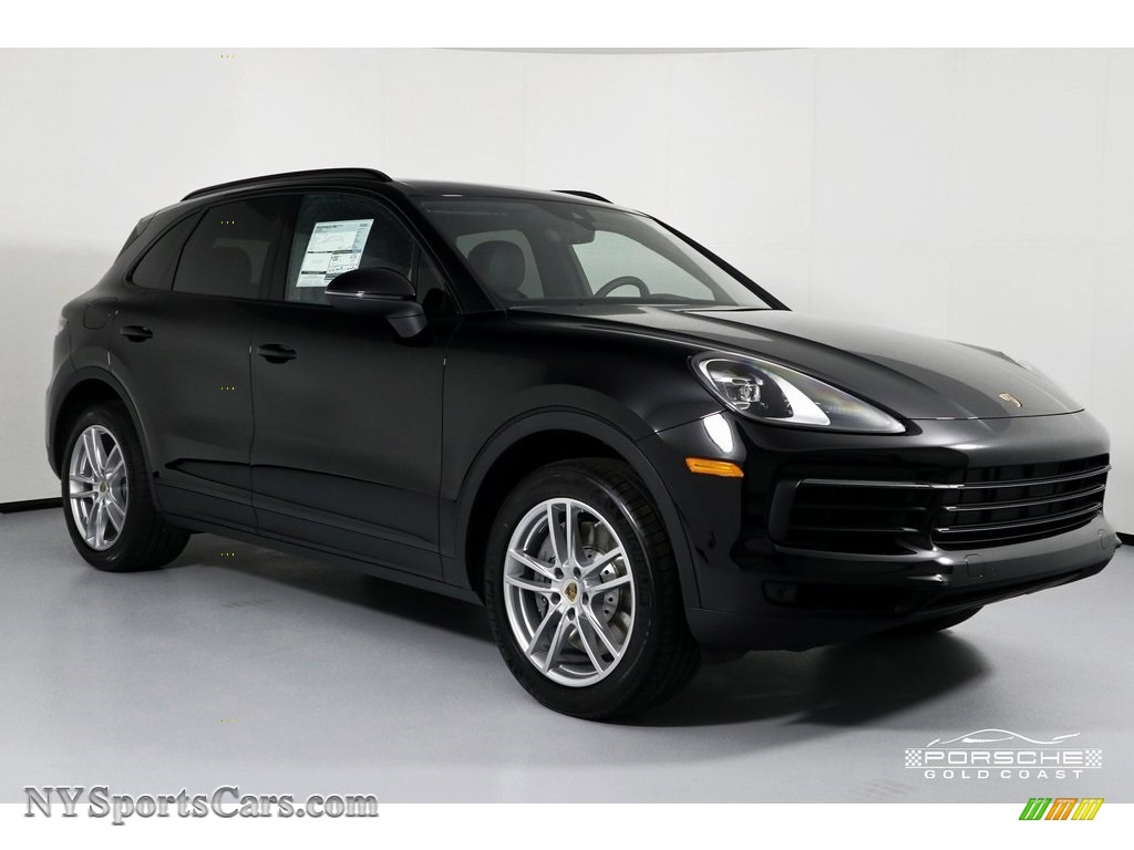 2019 Cayenne S - Black / Black photo #1