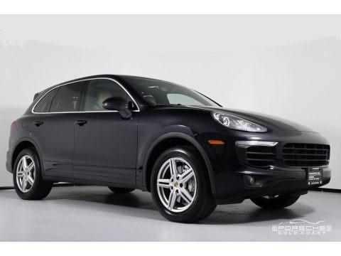 Moonlight Blue Metallic 2016 Porsche Cayenne S