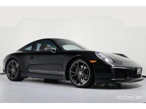 Black 2018 Porsche 911 Carrera T Coupe