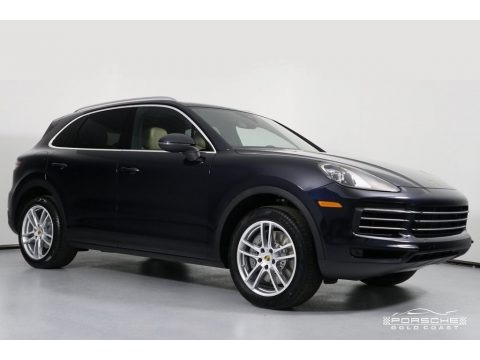 Moonlight Blue Metallic 2019 Porsche Cayenne S