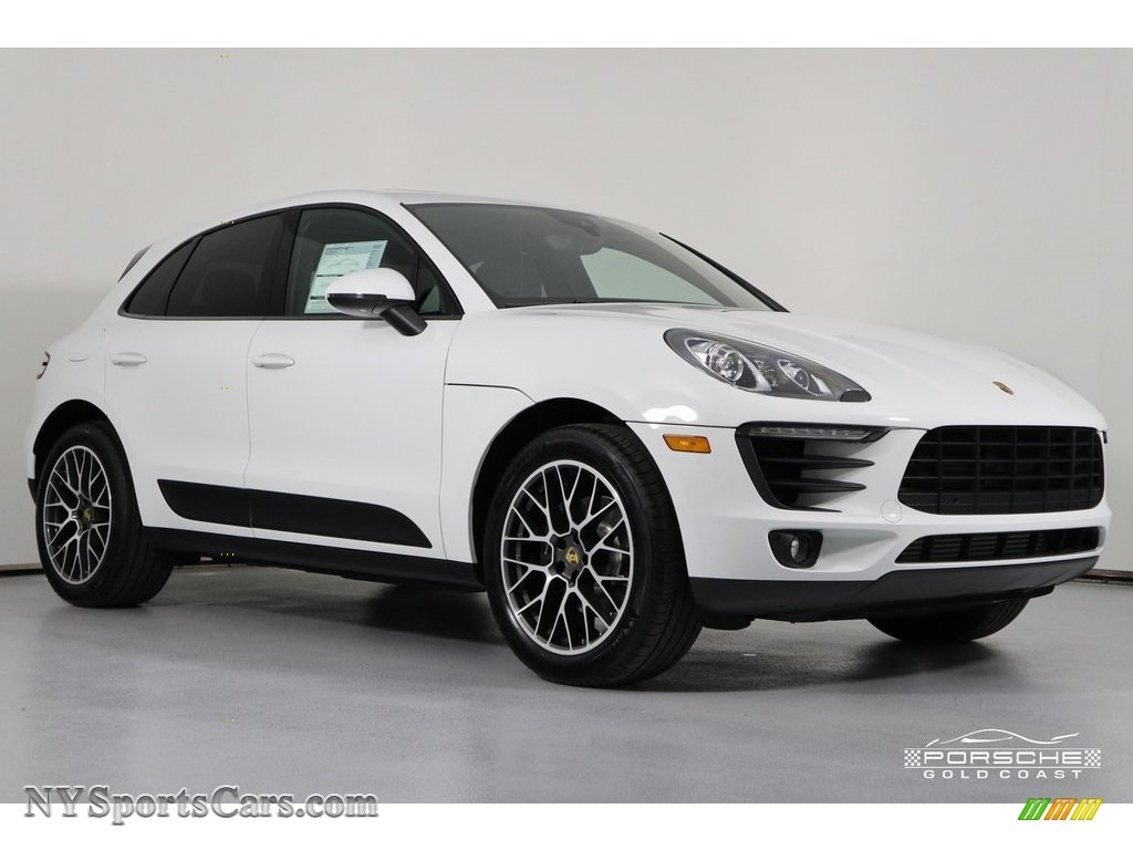 2018 Macan Sport Edition - White / Black photo #1