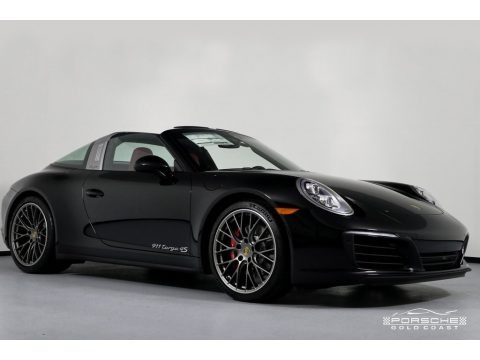 Black 2019 Porsche 911 Targa 4S