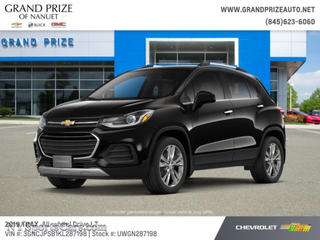 2019 Trax LT AWD - Mosaic Black Metallic / Jet Black photo #1