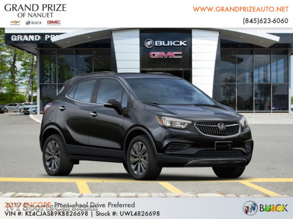 2019 Encore Preferred - Ebony Twilight Metallic / Ebony photo #4