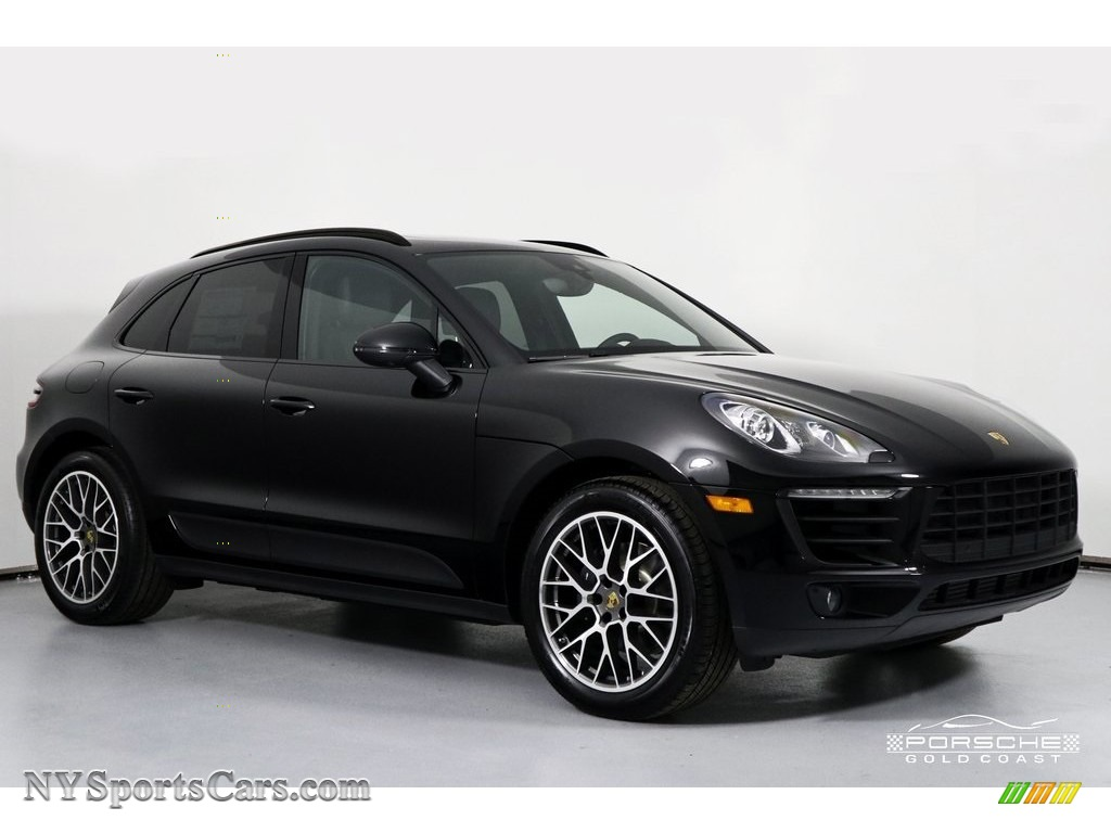 2018 Macan Sport Edition - Black / Black photo #1