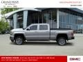 GMC Sierra 2500HD Denali Crew Cab 4WD Quicksilver Metallic photo #2