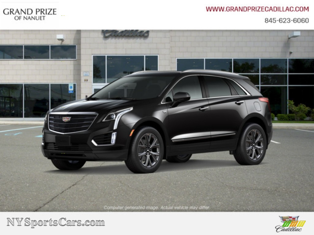 Stellar Black Metallic / Jet Black Cadillac XT5 Luxury AWD