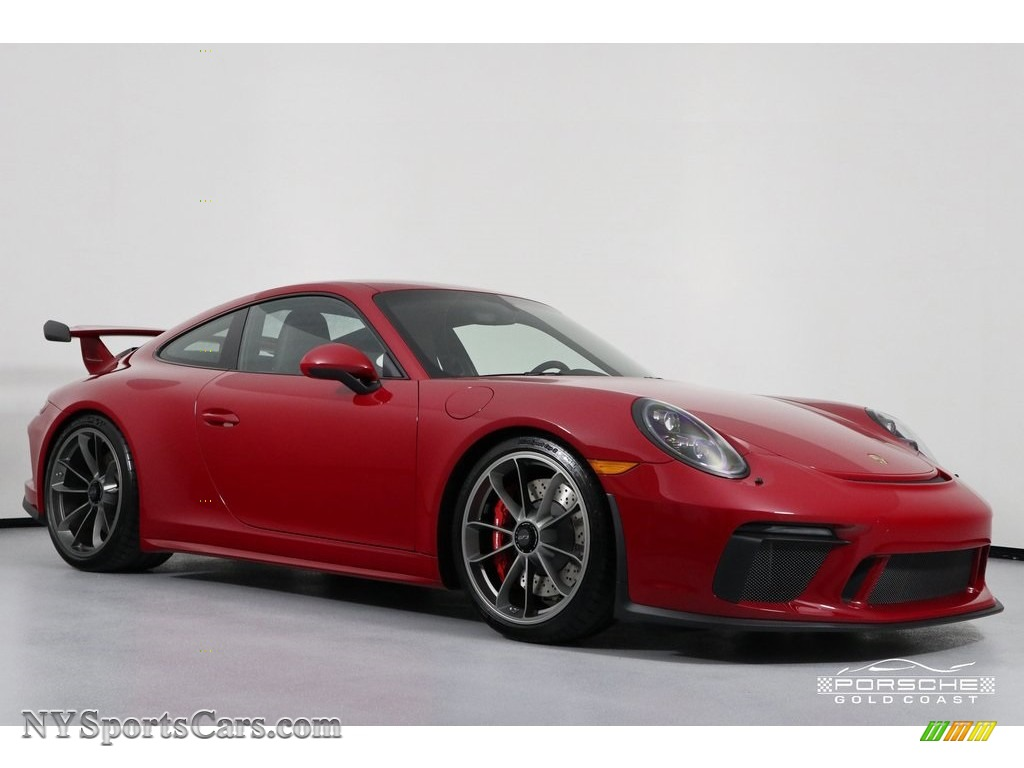 2018 911 GT3 - Carmine Red / Black photo #1