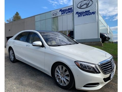Diamond White Metallic 2015 Mercedes-Benz S 550 4Matic Sedan