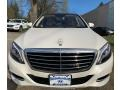 Mercedes-Benz S 550 4Matic Sedan Diamond White Metallic photo #2