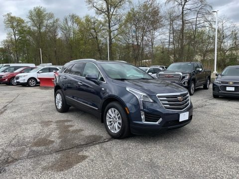 Harbor Blue Metallic 2019 Cadillac XT5 AWD