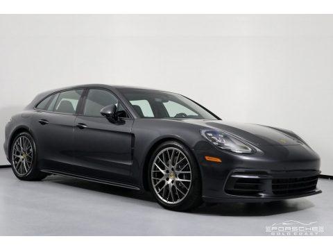 Volcano Grey Metallic 2019 Porsche Panamera 4 Sport Turismo