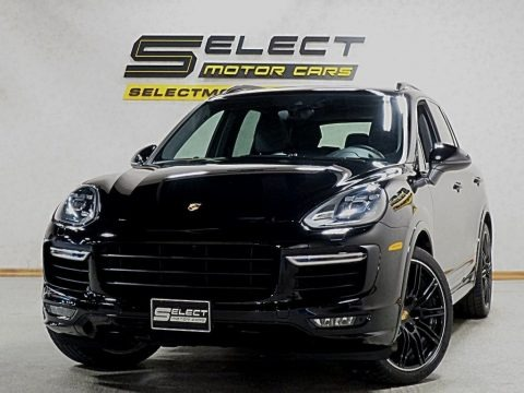 Black 2017 Porsche Cayenne Turbo
