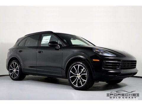 Black 2019 Porsche Cayenne