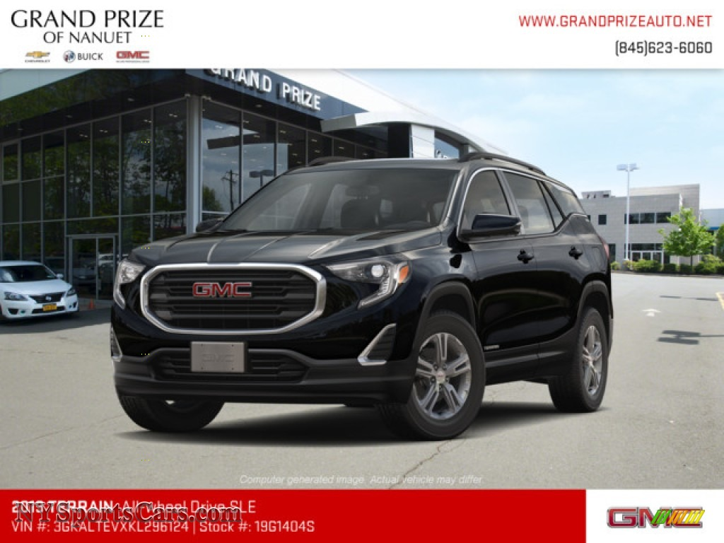 2019 Terrain SLE AWD - Ebony Twilight Metallic / Jet Black photo #1