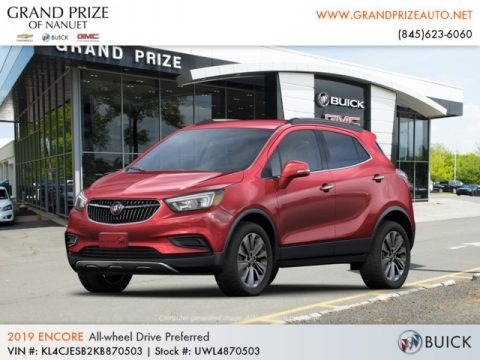 Winterberry Red Metallic 2019 Buick Encore Preferred AWD