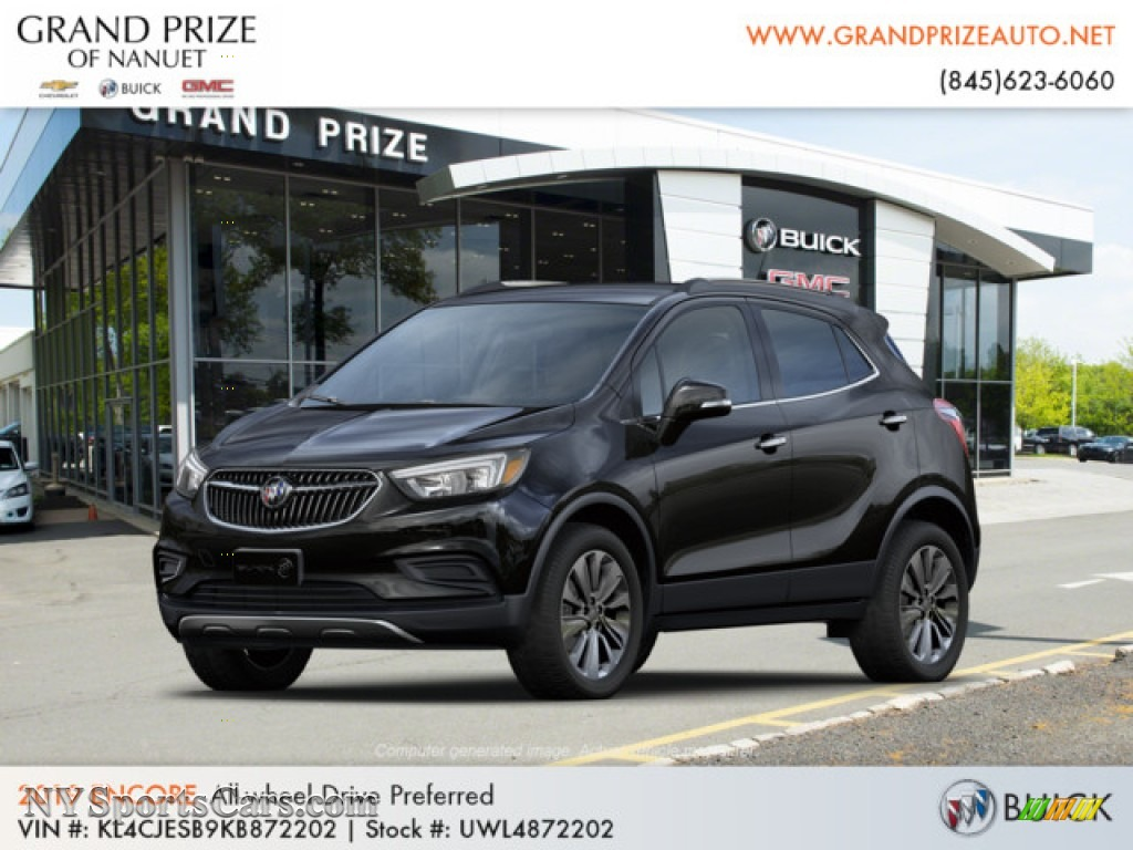 Ebony Twilight Metallic / Ebony Buick Encore Preferred AWD