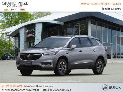 Satin Steel Metallic 2019 Buick Enclave Essence AWD