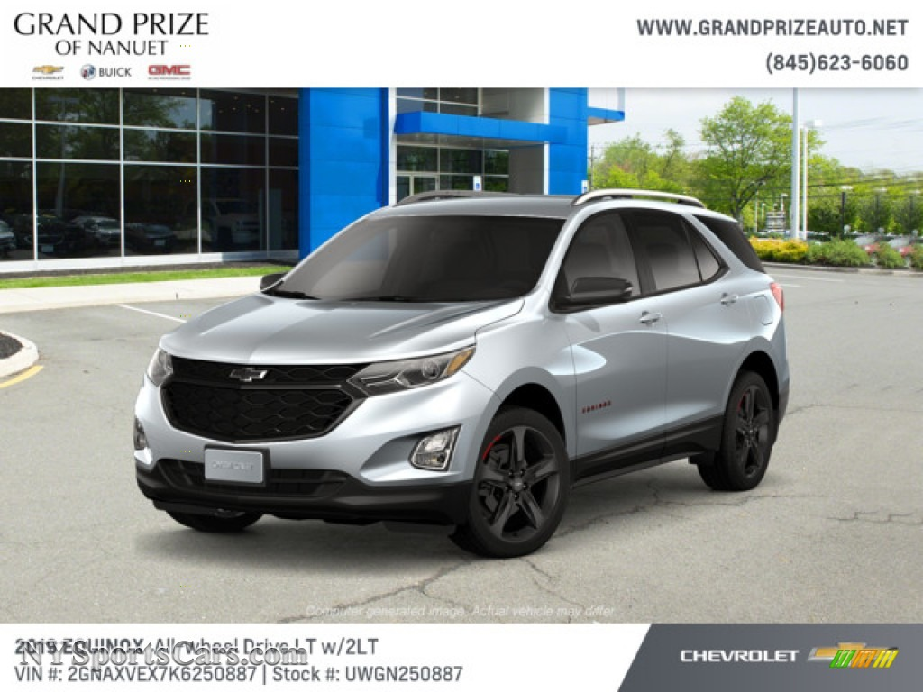 2019 Equinox LT AWD - Silver Ice Metallic / Jet Black photo #1
