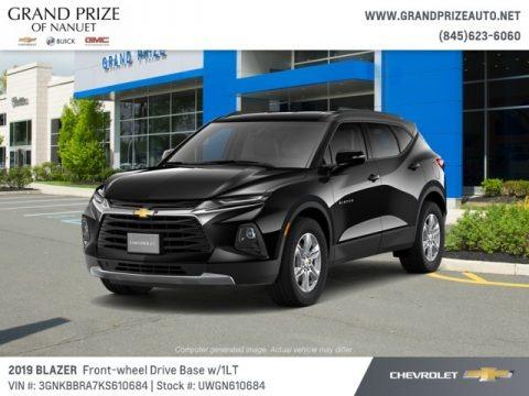Black 2019 Chevrolet Blazer 2.5L Cloth