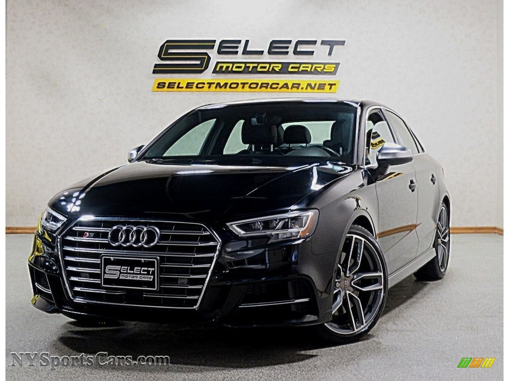 2017 S3 2.0T Premium Plus quattro - Brilliant Black / Black/Rock Gray Stitching photo #1