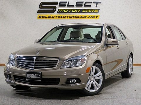 Pearl Beige Metallic 2011 Mercedes-Benz C 300 Luxury 4Matic