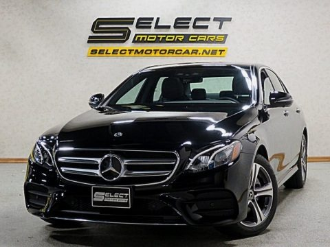 Black 2019 Mercedes-Benz E 300 Sedan