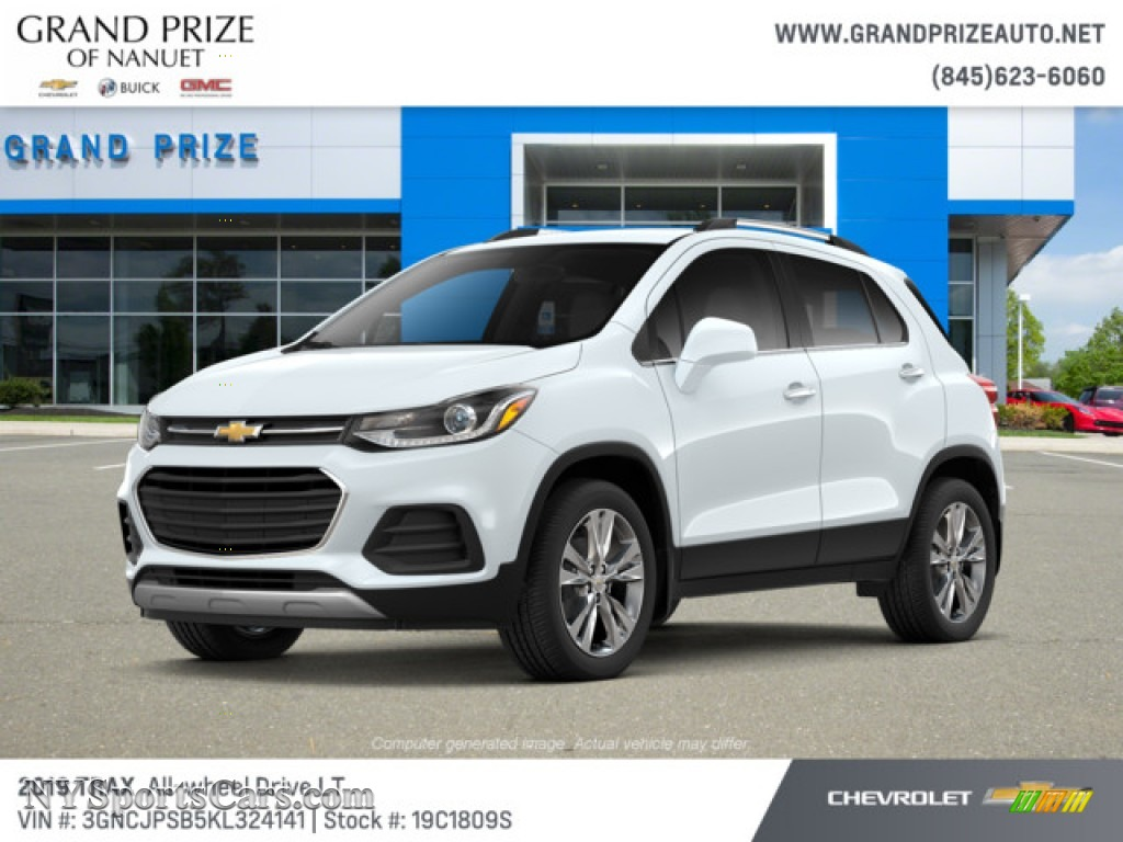 2019 Trax LT AWD - Summit White / Jet Black photo #1