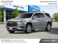 Chevrolet Traverse Premier AWD Satin Steel Metallic photo #2