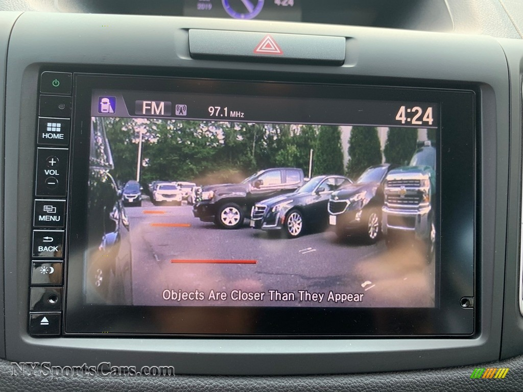 2016 CR-V EX AWD - Crystal Black Pearl / Black photo #23