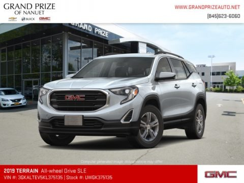 Quicksilver Metallic 2019 GMC Terrain SLE AWD