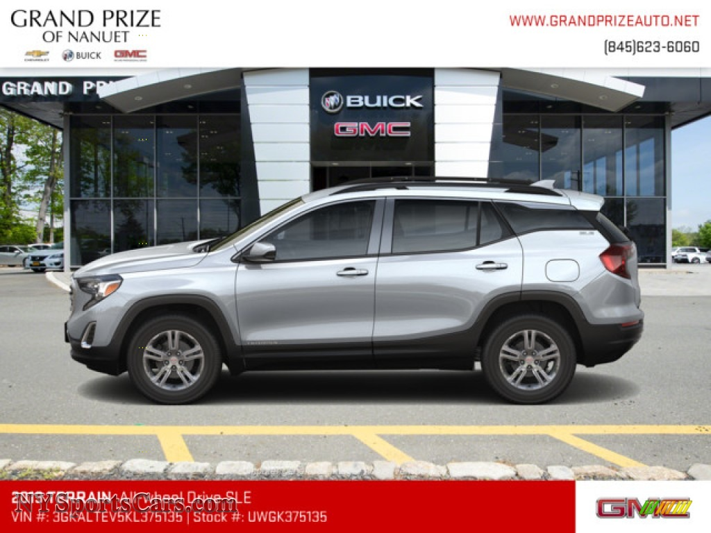 2019 Terrain SLE AWD - Quicksilver Metallic / Jet Black photo #2
