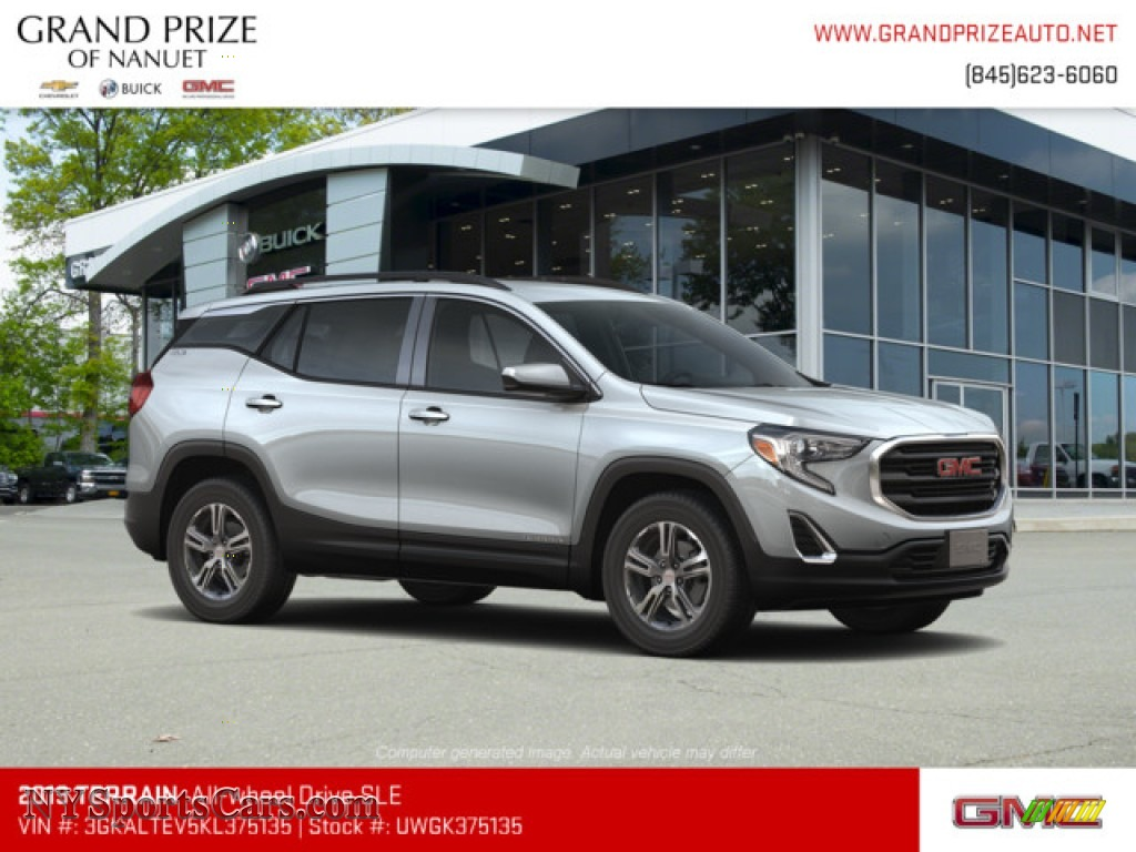 2019 Terrain SLE AWD - Quicksilver Metallic / Jet Black photo #4