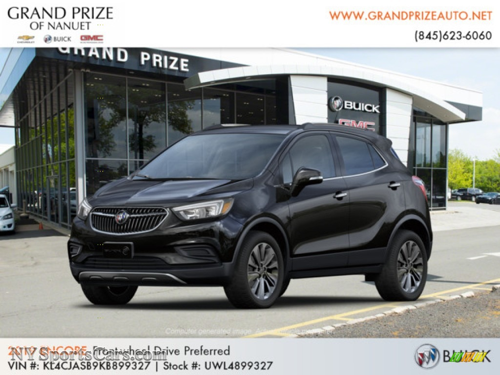 Ebony Twilight Metallic / Ebony Buick Encore Preferred