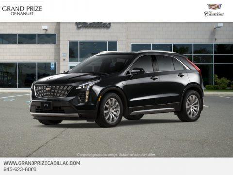 Stellar Black Metallic 2019 Cadillac XT4 Premium Luxury AWD