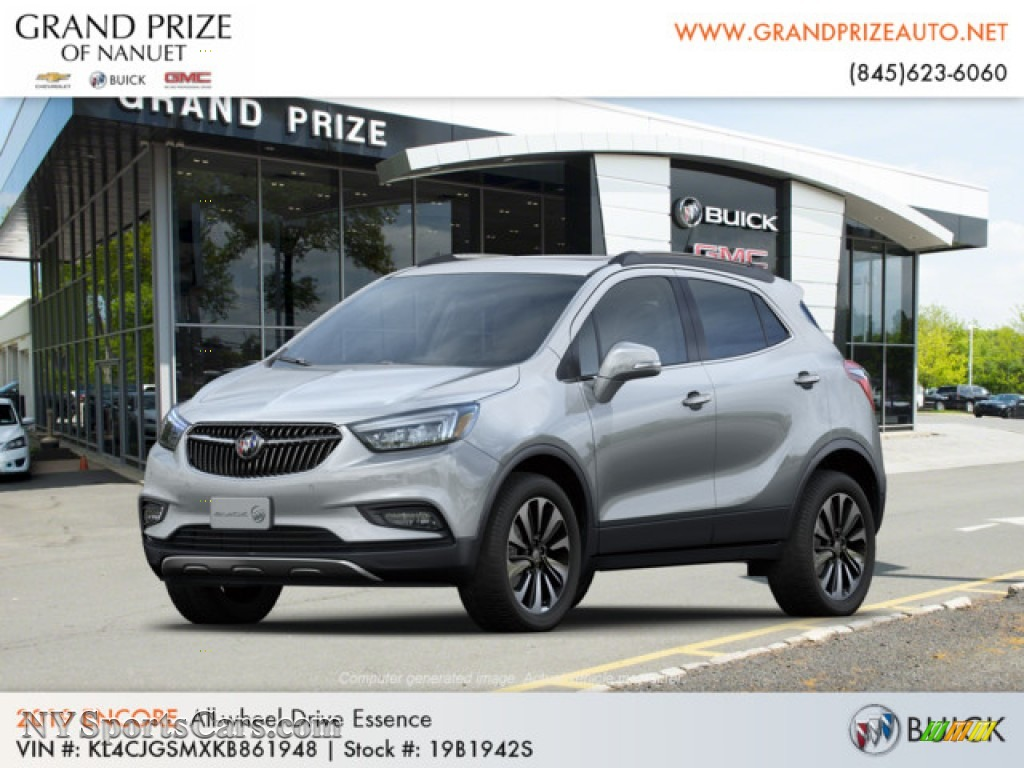 2019 Encore Essence AWD - Quicksilver Metallic / Ebony photo #1