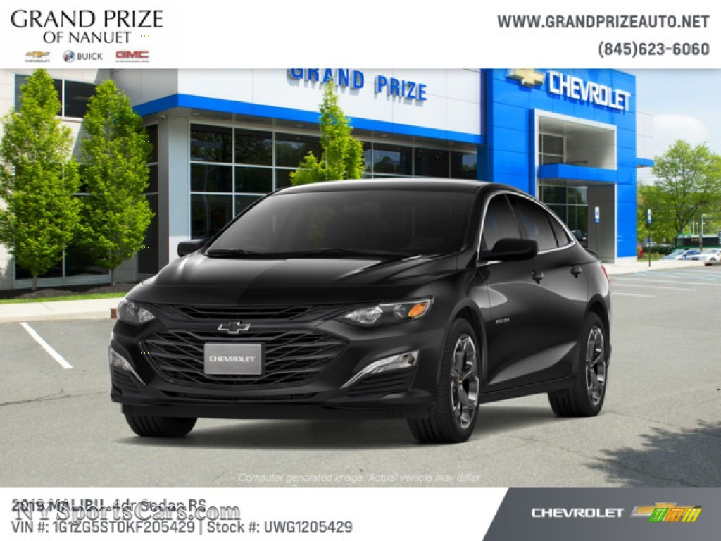 2019 Malibu RS - Mosaic Black Metallic / Jet Black photo #1