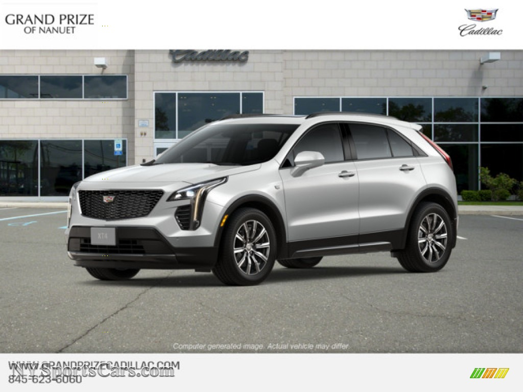 Crystal White Tricoat / Light Wheat/Jet Black Cadillac XT4 Sport AWD