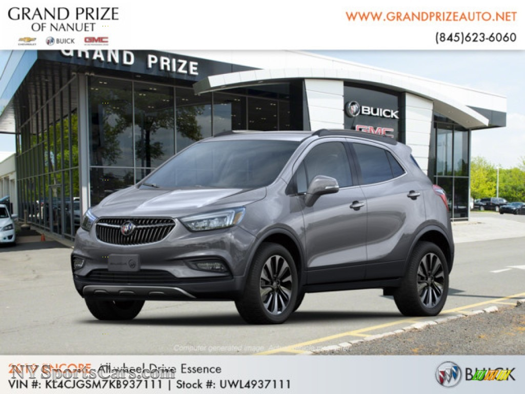 2019 Encore Essence AWD - Satin Steel Metallic / Ebony photo #1