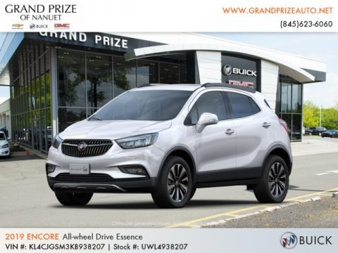 Summit White 2019 Buick Encore Essence AWD
